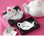 Christening Sweet Tea Bag Holder Favor