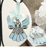 Christmas Angel Ornaments Blue