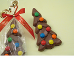 Christmas Tree Chocolate Favors