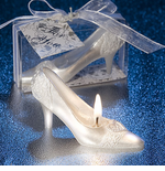 Cinderella Slipper Candle Favor