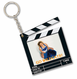 Clapboard Key Tag Favor