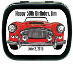 Classic Car Party Favors Mint Tins