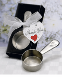 Coffee Party Supplies Chrome Scoop Favors