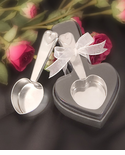 Coffee Scoop Favors - Heart Shape