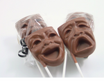 Comedy and Tragedy Mask Candy Chocolate
