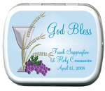 Communion Candy Favors Mint Tins