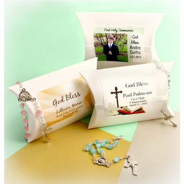 Communion Rosaries Favors - Custom Pouch