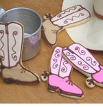 Cowboy Boot Cookie Favors