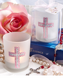 Cross Candle Favors Girl