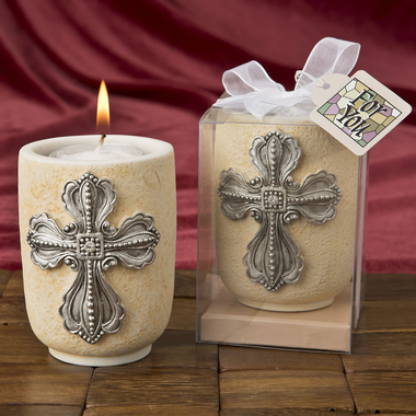Cross Candle Holders