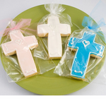 Cross Cookies for Christian Celebrations