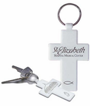 Cross Key Chains Personalized