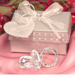 Crystal Pacifier Favors