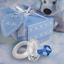 Crystal Pacifier Favors Pink & Blue