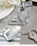 Diamond Keychain Flashlight Key Rings