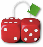 Dice Gift Bags (Set of 6 Bags)