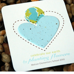 Earth Favors Plantable World Card