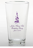 Fairytale Birthday Castle Glasses