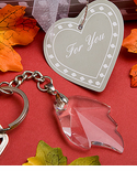 Fall Theme Party Favor Leaf Keyring