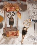 Fall Wedding Wine Bottle Stopper