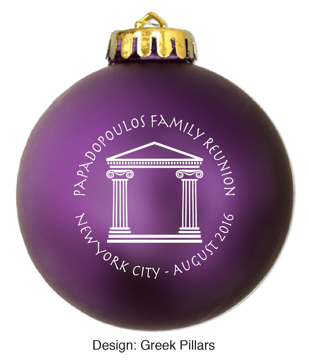 Personalized Christmas Ornaments For Wedding Favors