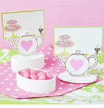 Favors Tea Party Place Card Holders - 12