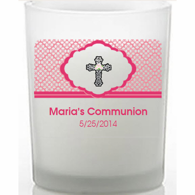 First Communion Candles for Girls