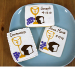 First Communion Cookies - Bread & Wine