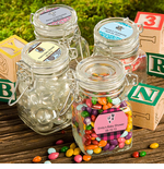 First Communion Favors - Personalized Apothecary Jars