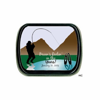 Fishing Party Favors - Theme Mint Tins - 3 Designs