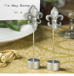 Fleur de Lis Place Card Holder Favors