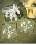 Flower Coasters Calla Lily Favors