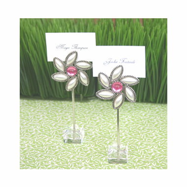 Theme Garden Party Favors Set of 12 Placecard Holders