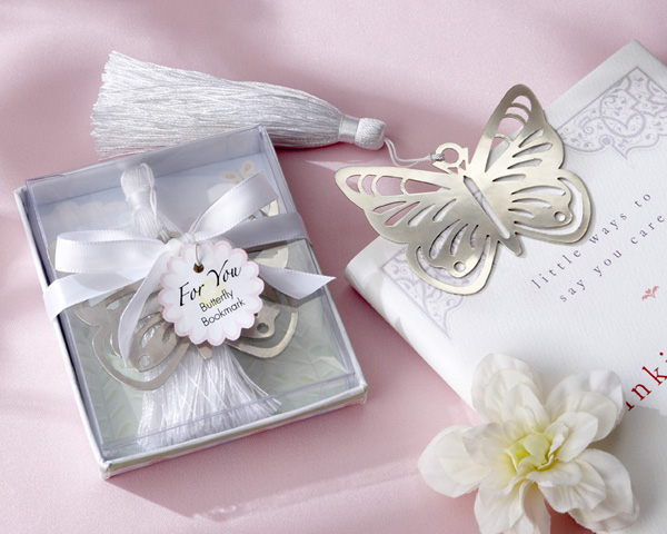 Garden Party Favors Butterfly Bookmark
