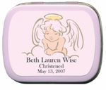 Girls Christening Favors Custom Mint Tins