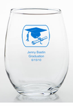 Glass Graduation Favors Ideas