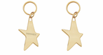 Gold Star Key Ring