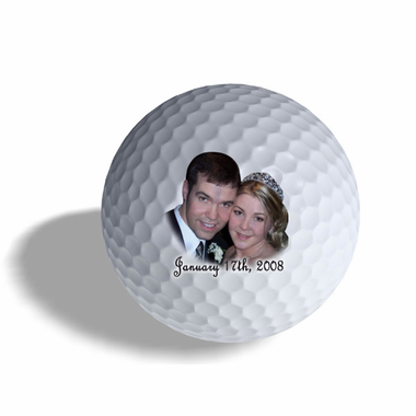Golf Wedding Favors Photo Ball
