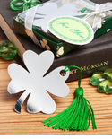 Graduation Bookmark Good Luck Shamrock