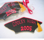 Graduation Cap Cookies Favor