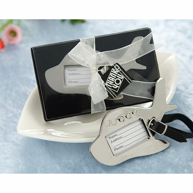 Graduation Favors Plane Luggage Tags
