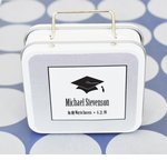 Graduation Suitcase Favor Tins