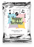 Happy Birthday-Music Notes Coffee Favor