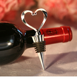 Heart Bottle Stopper Favors