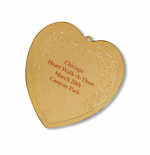 Heart of Gold Personalized Ornament