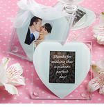 Heart Party Favors Photo Coasters