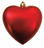 Heart Shaped Ornaments - Available in Mid September