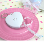Heart Tape Measure Favor  (Key Chain too)