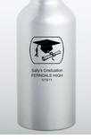 High School Graduation Favors Printed Water Bottles
