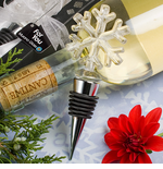 Holiday Party Favors Snowflake  Bottle Stoppers